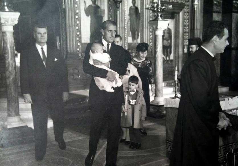 Vane Ivanović kumuje Aleksinoj kćerki Jeleni