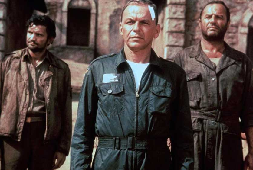 "Frank (u sredini) i Bred (desno) u filmu ""Von Rajan Ekspres"""