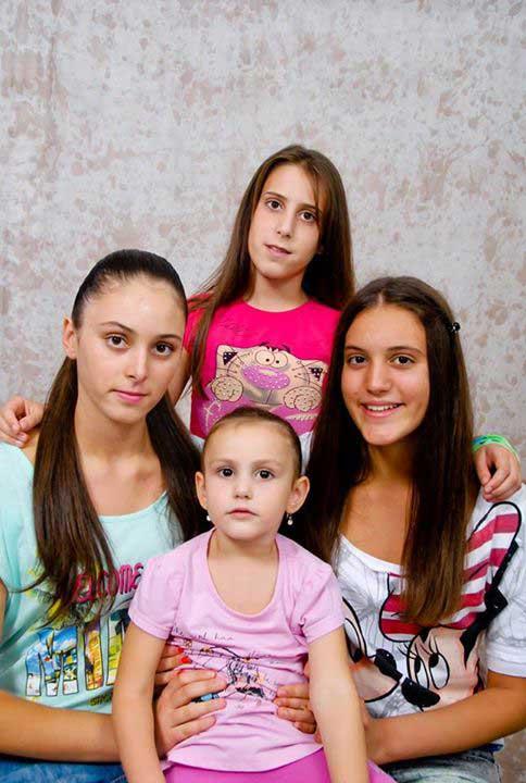Jovana, Anđela, Teodora i Ivona