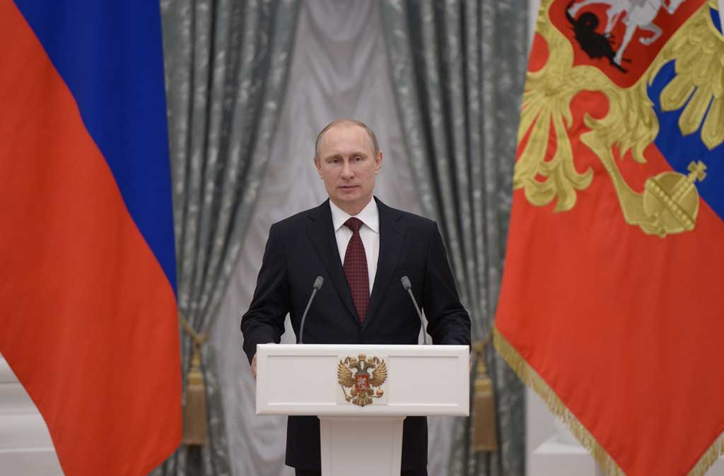 Vladimir Putin (Foto: Alexei Nikolsky / Associated Press)