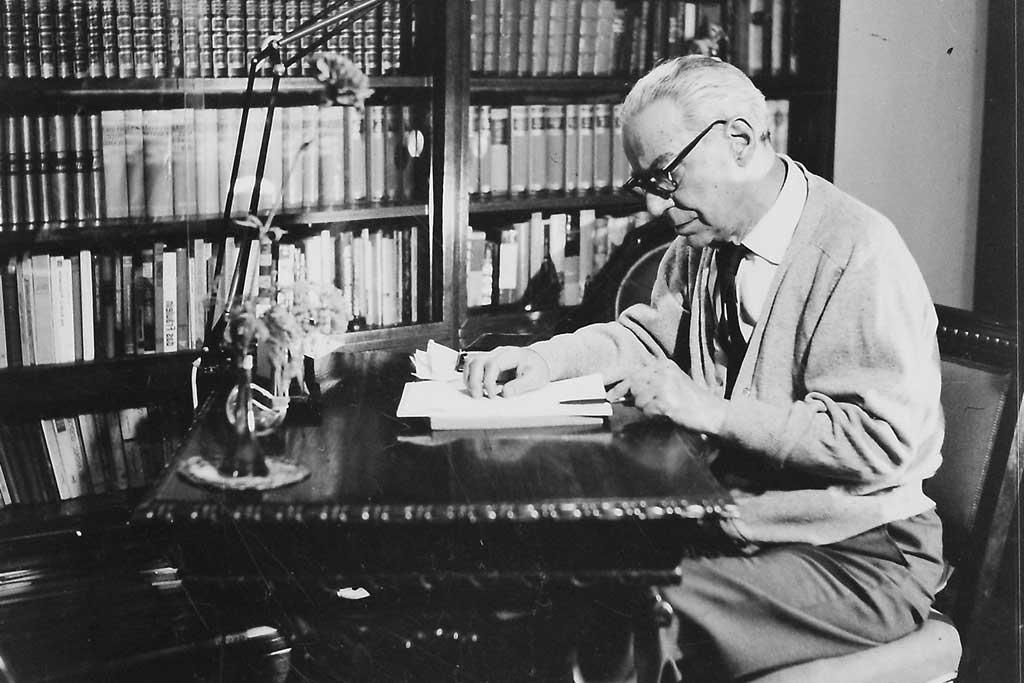 Ivo Andrić u svom domu (Foto: Stevan Kragujević)