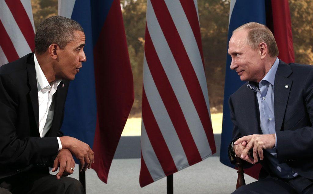 Obama i Putin (Foto: Reuters / Kevin Lamarque)