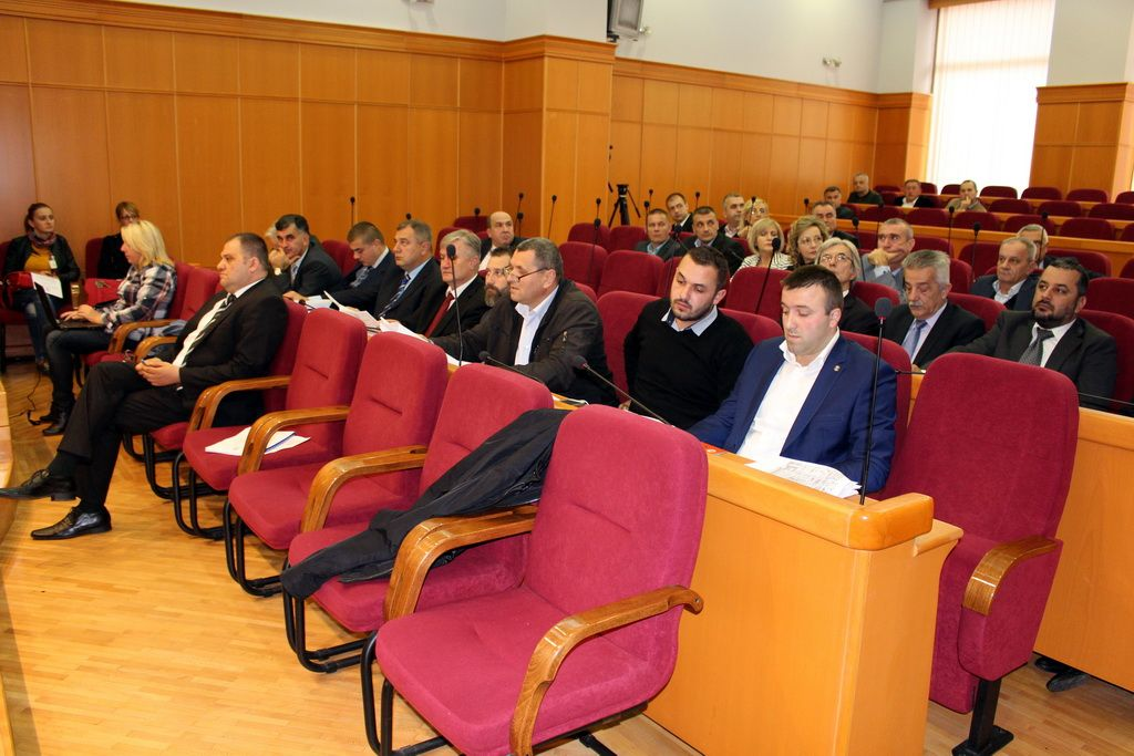 Sjednica Skupštine grada Trebinja (FOTO: Moja Hercegovina/arhiv)