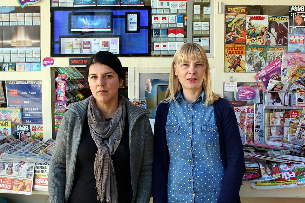 Tanja Grnogorac i Amila Škero (FOTO: Moja HErcegovina)