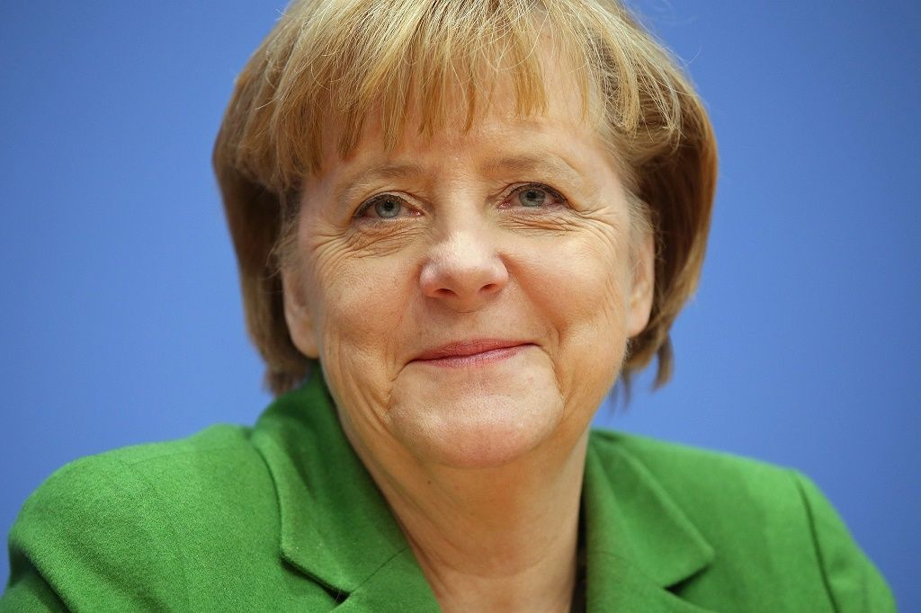 Angela Merkel (Photo by Sean Gallup/Getty Images,)