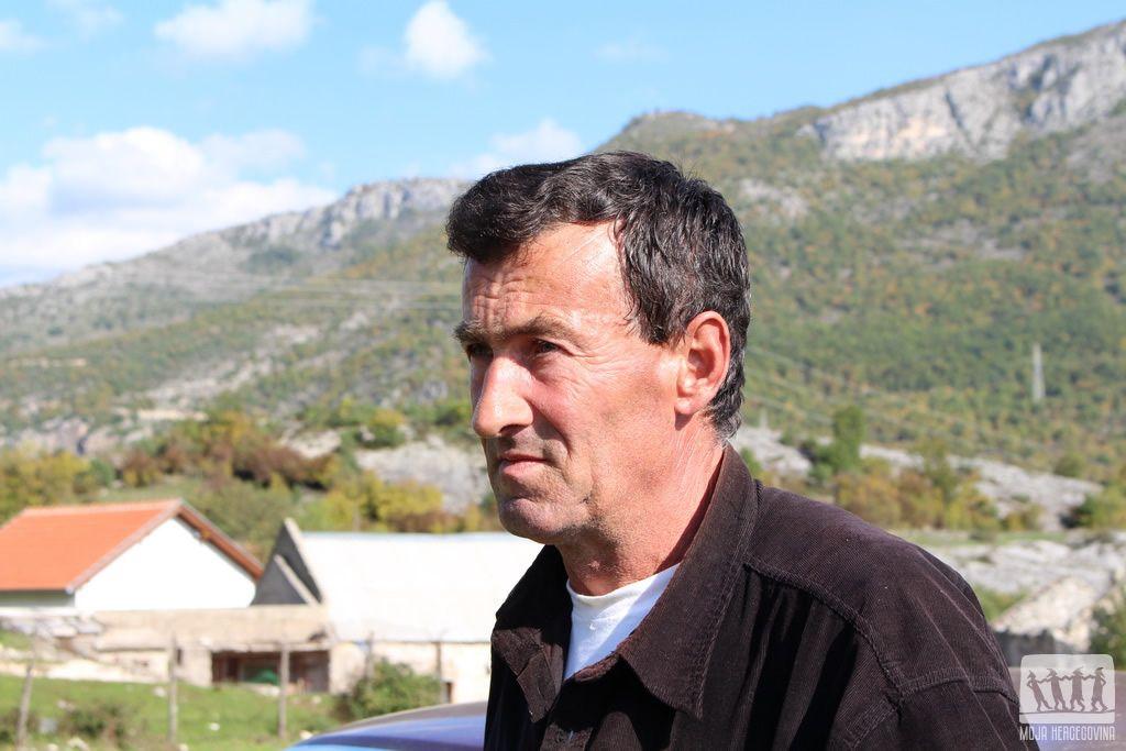 Izet Arnautović, povratnik u Gornjem Grančarevu u Lastvi kod Trebinja (Foto: Moja Hercegovina)
