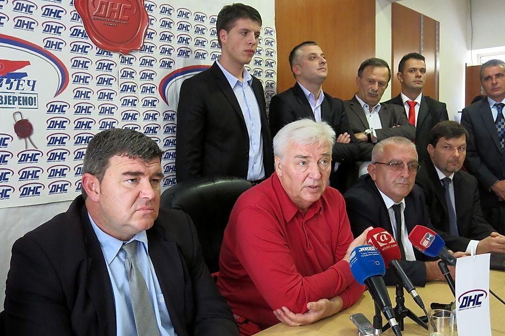 Marko Pavić, predsjednik DNS-a u Trebinju (Foto: Moja Hercegovina)