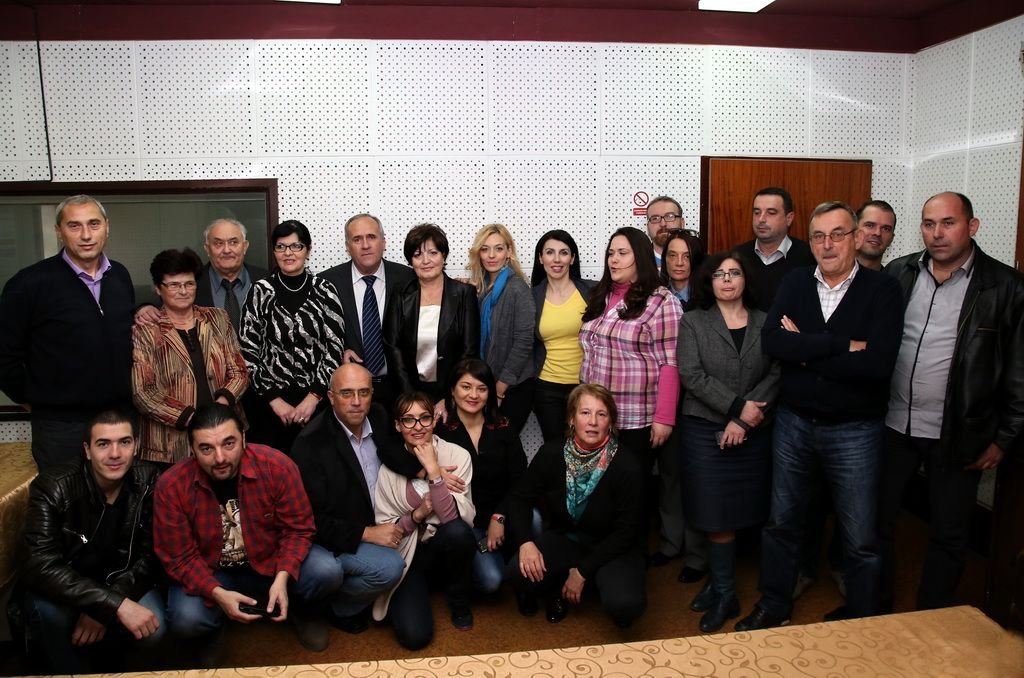 Ekipa Radio Trebinja i portala Radiotrebinje.com (FOTO: Predrag Mucović)