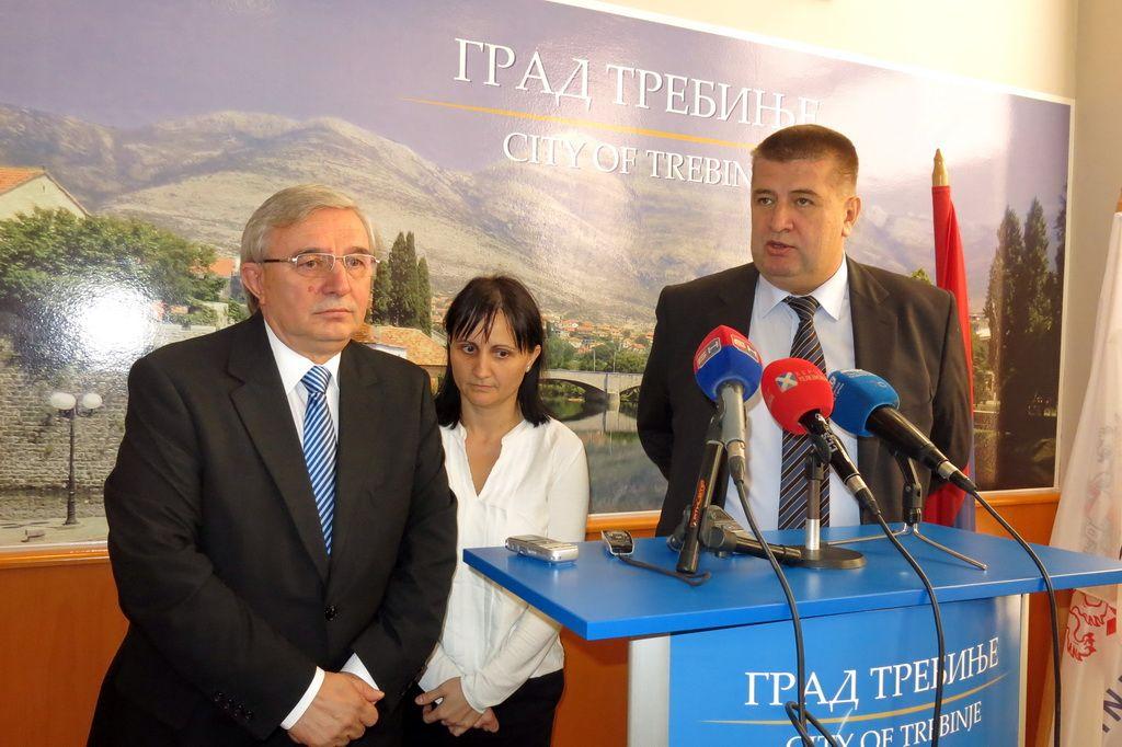 Teodoresku i Vučurević (Foto: Moja Hercegovina)