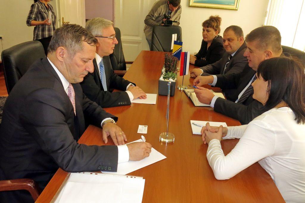 Ambasador Rumunije u BiH Filip Teodoresku u posjeti Trebinju (Foto: Moja Hercegovina)