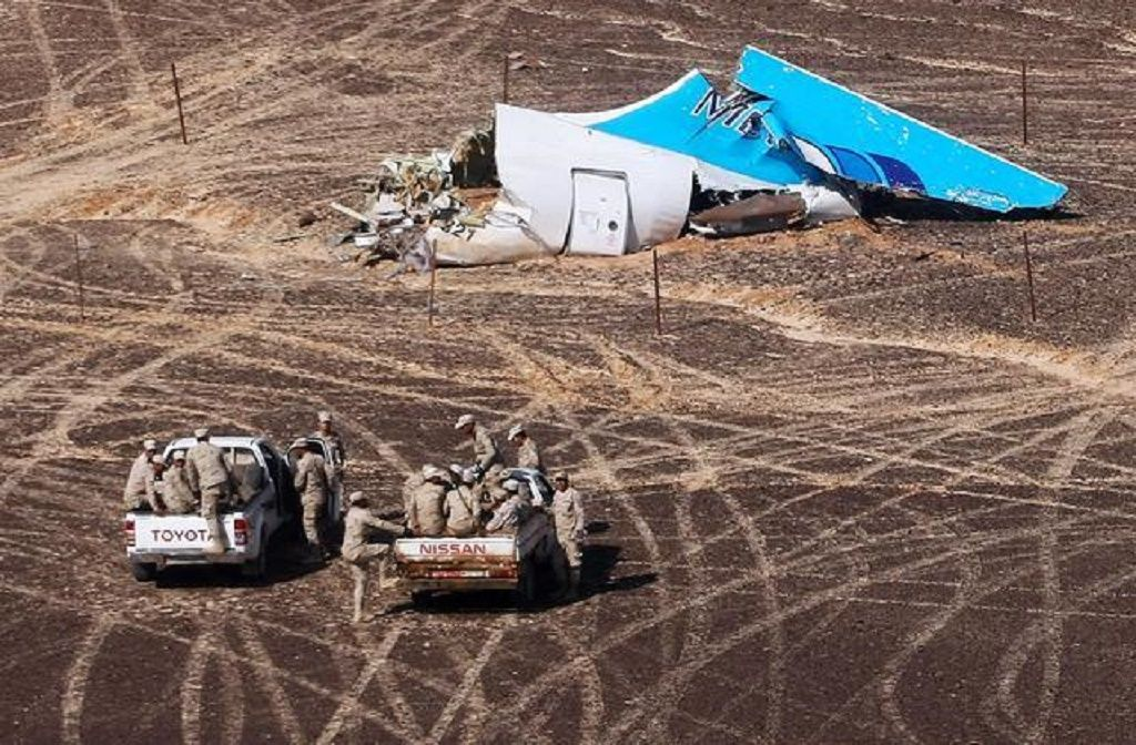 Rusija: Teroristi krivi za pad aviona (Foto: BETA/AP)