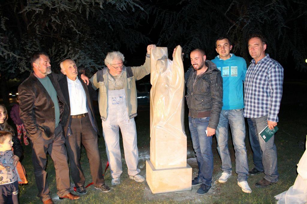 Skulptura vajara Mihajla Gligorića (FOTO: Moja Hercegovina)