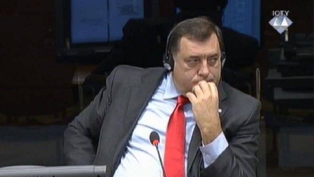 Milorad Dodik - svjedok odbrane Ratka Mladića