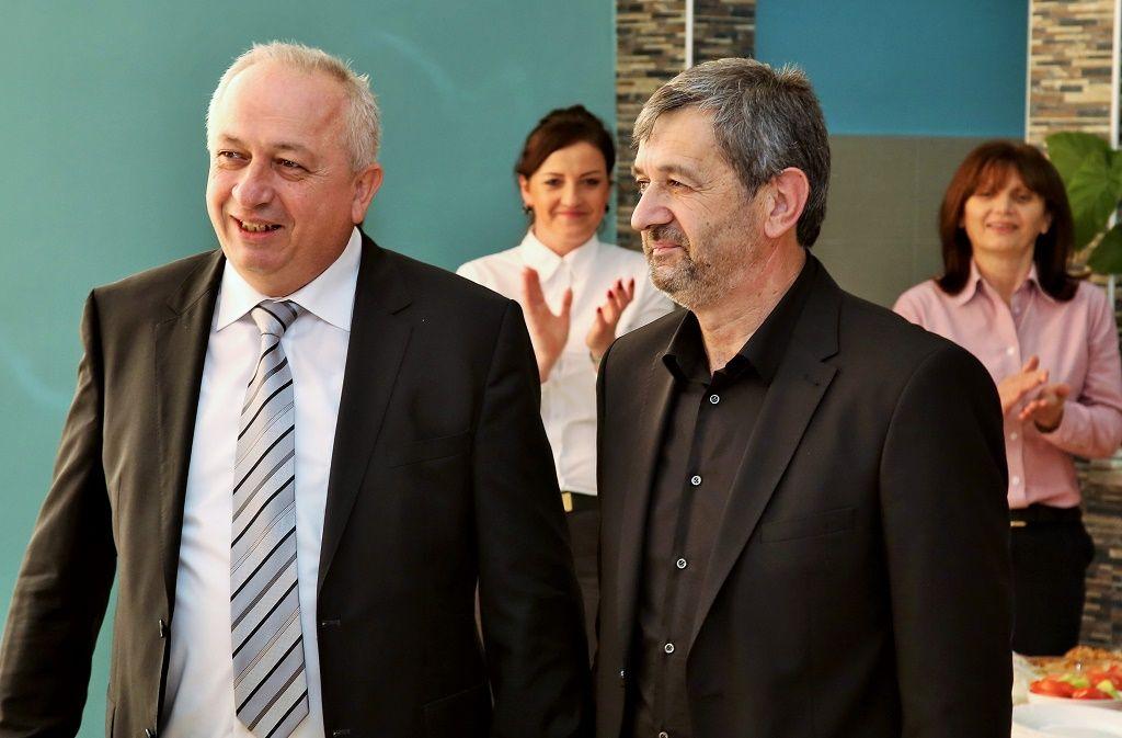 Vladislav Vladičić i Dragan Savić