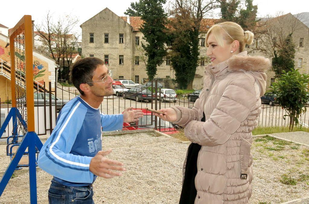 """Velo i novinarka """"Moje Hercegovine"""" Neda Petković (FOTO: Moja Hercegovina)"""