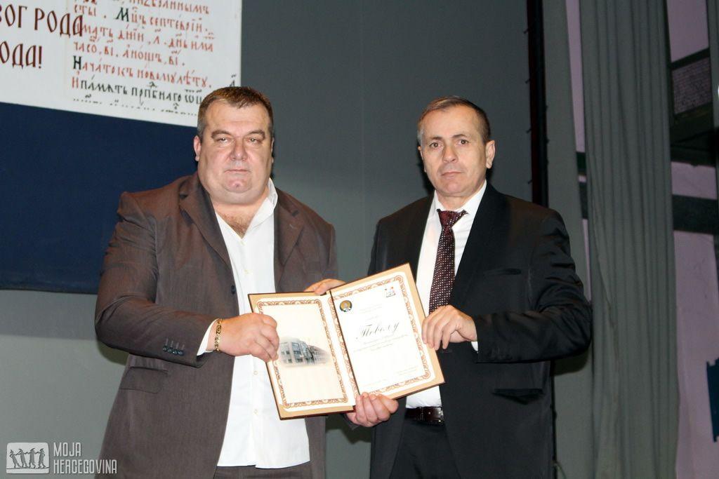 Miljan Aleksić i Nenad Vukoje (FOTO: Moja Hercegovina)
