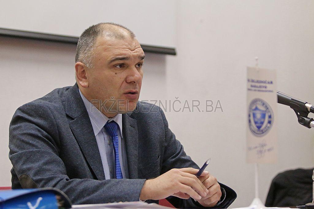 Bakir Dautbašić (FOTO: fkzeljeznicar.ba)