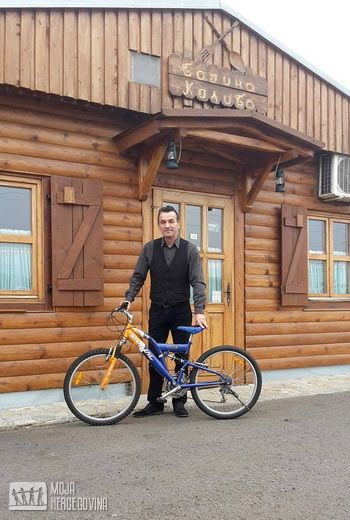Nenad Pantić, poslao biciklo iz Novog Sada