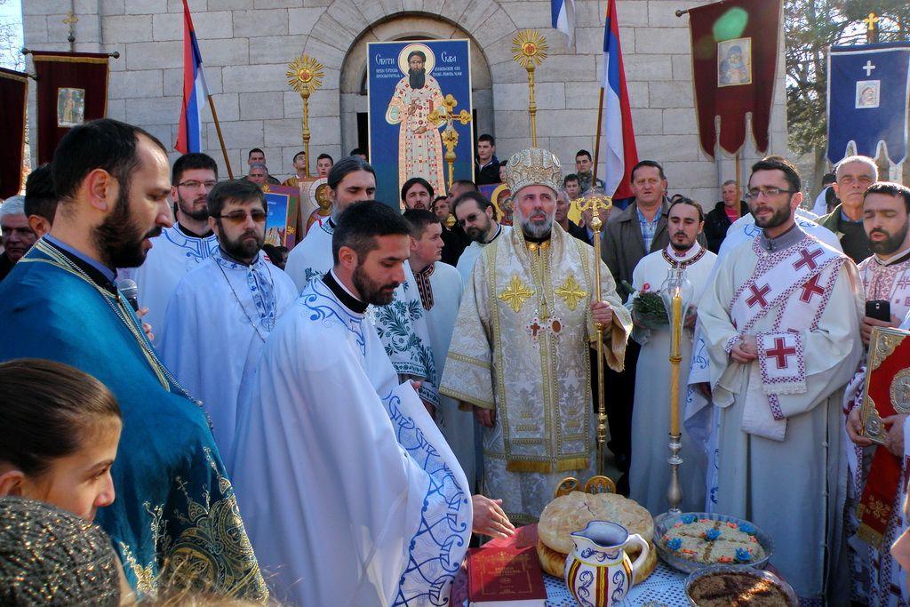 Vladika Grigorije na Savindanu u Bileći (FOTO: Mišo Kisić)