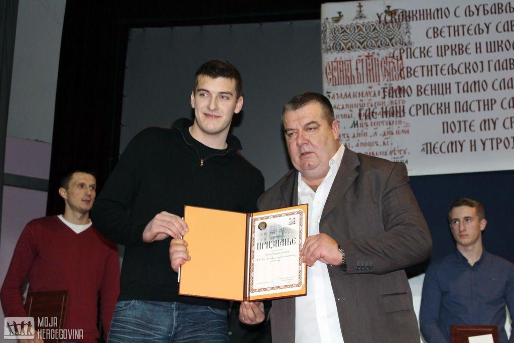 Luka Radmilović i Miljan Aleksić (FOTO: Moja Hercegovina)