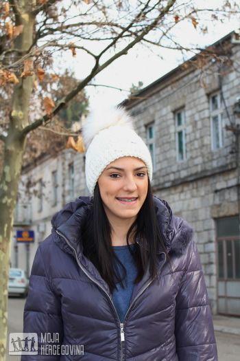 Tijana Bošković u šetnji rodnim gradom (FOTO: Moja Hercegovina)