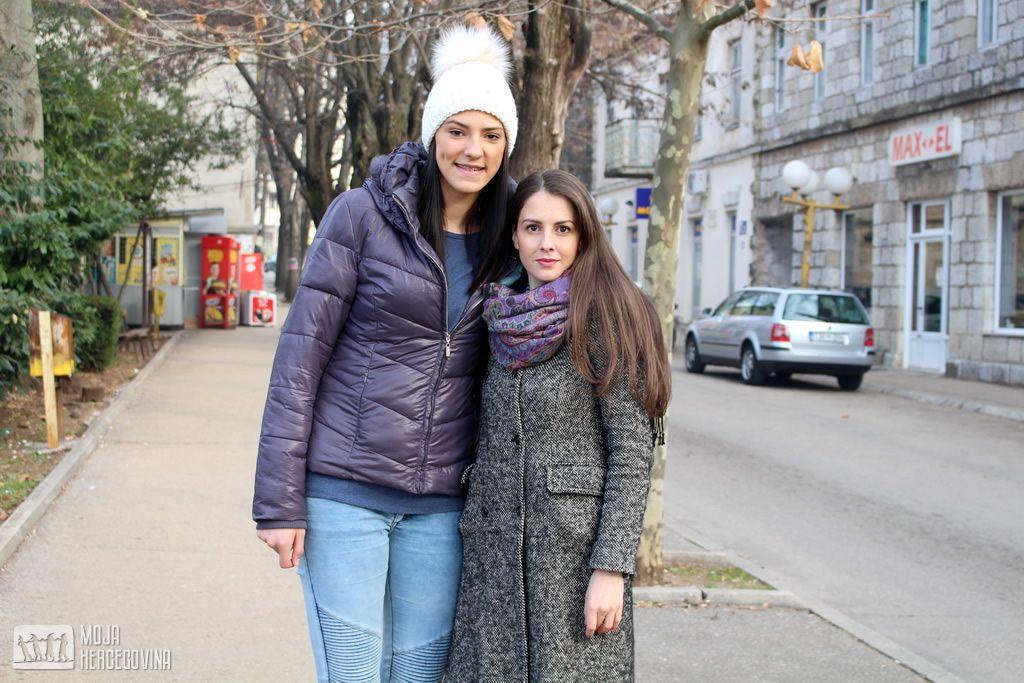 """Tijana Bošković i novinarka """"Moje Hercegovine"""" Jelena Denda (FOTO: Moja Hercegovina)"""