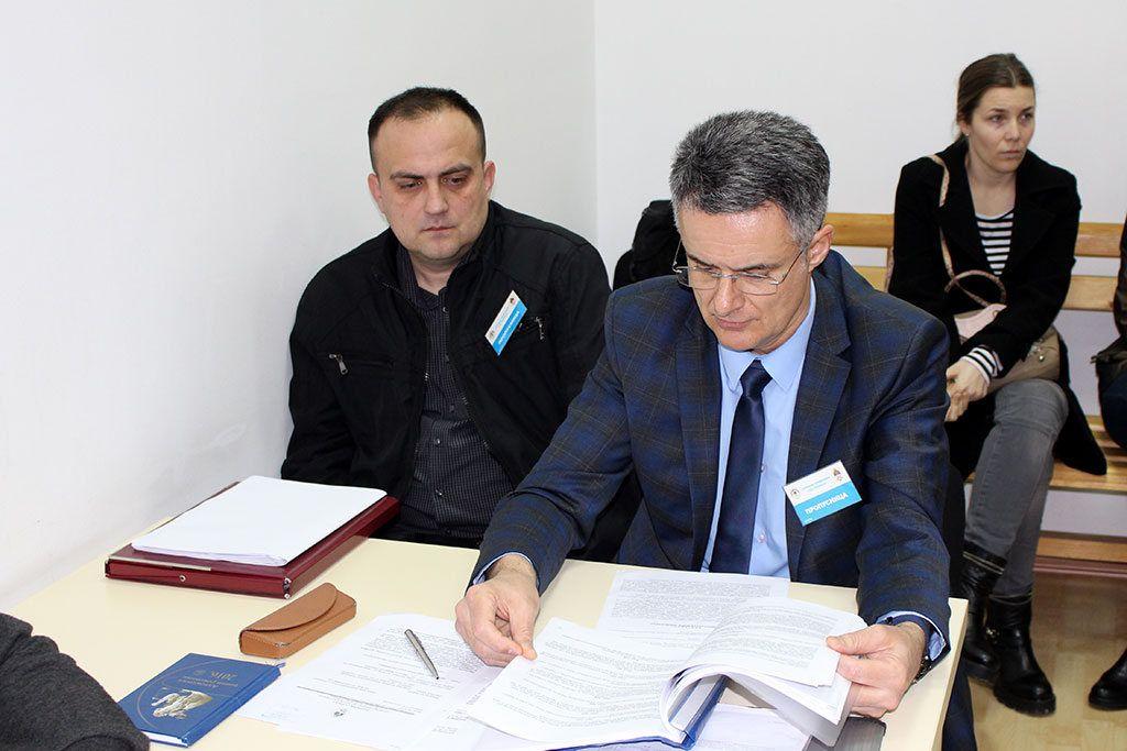 Predstavnici Eparhije - Jovanović i Tomović (FOTO: Moja Hercegovina)