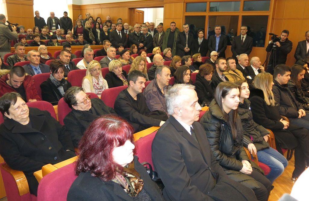 Komemoracija povodom smrti Nikole Sekulovića (Foto: Moja Hercegovina)