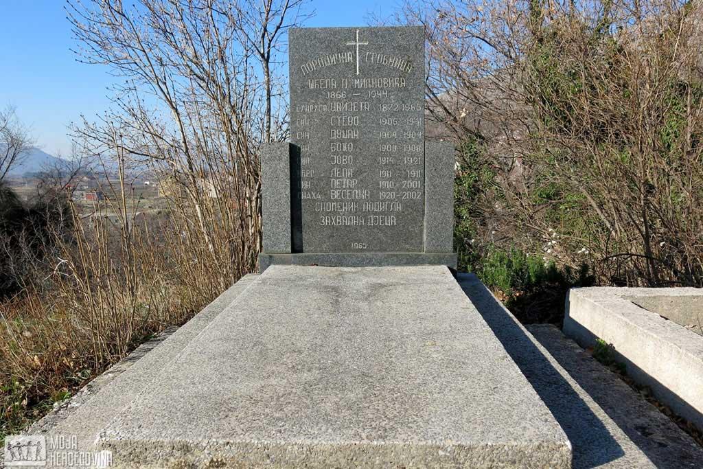 Grobnica porodice Miljković (Foto: Moja Hercegovina)