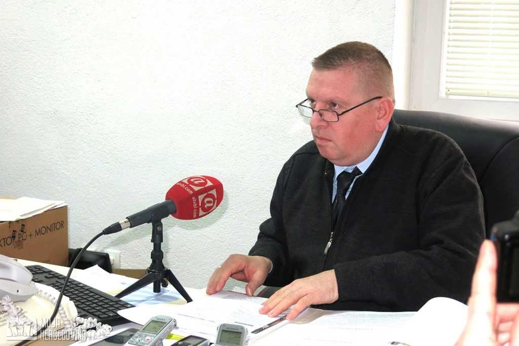 Smail Begović, predsjednik Okružnog privrednog suda Trebinje