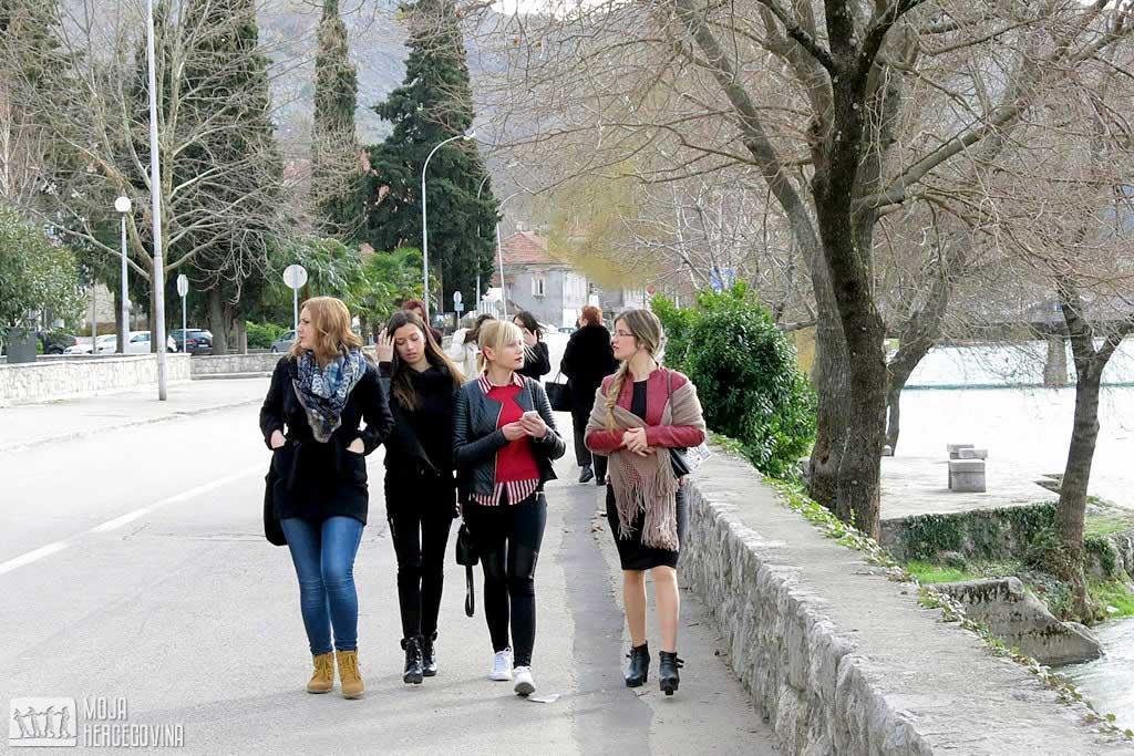 Šetnja trebinjskim ulicama (Foto: Moja Hercegovina)