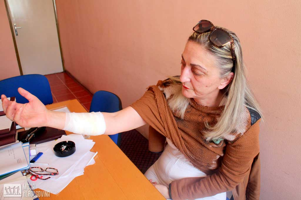 Zahvaljujući mladiću koji joj je pritekao u pomoć, Mirjana je prošla sa lakšim povredama