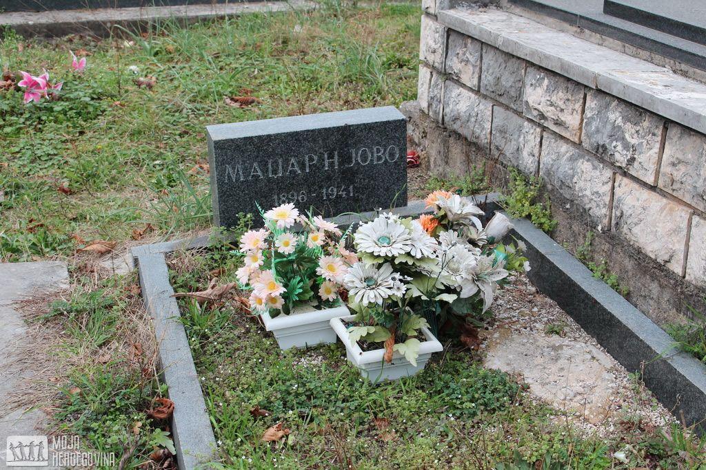 Prazan grob Jova Madžara u Podgljivlju (FOTO: Moja Hercegovina)