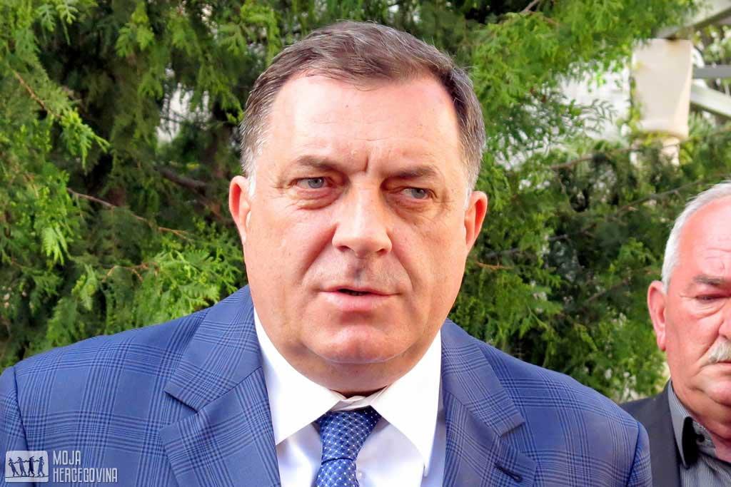 Milorad Dodik u Trebinju (FOTO: Moja Hercegovina)