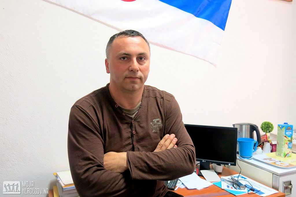 Miroslav Andrić, predsjednik Udruženja amputiraca Trebinje (Foto: Moja Hercegovina)