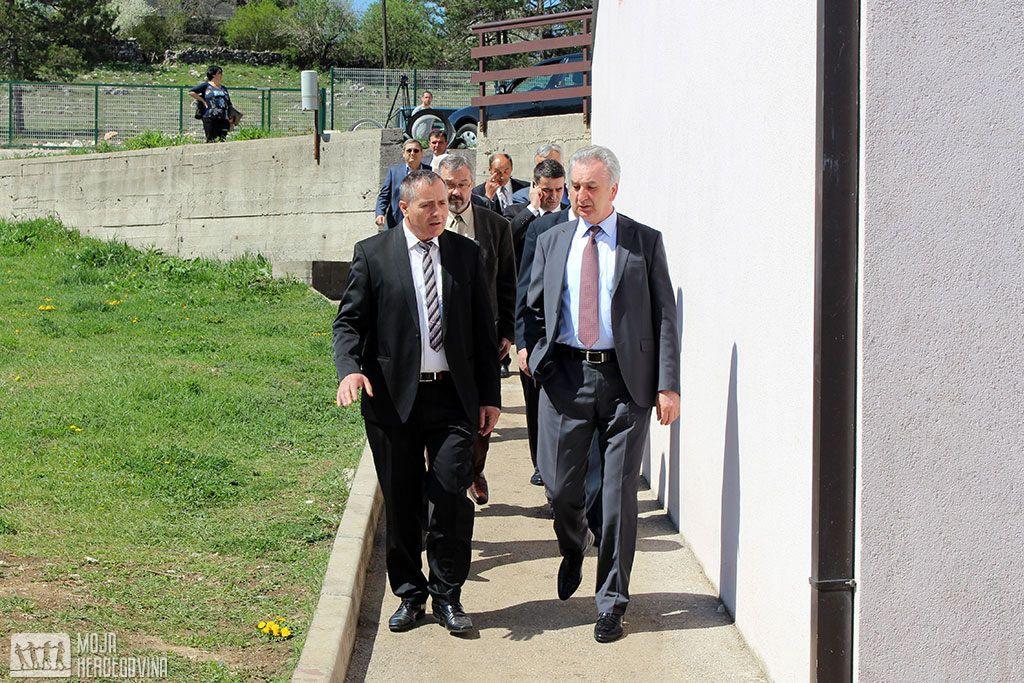 Nenad Vukoje i Mirko Šarović u Bileći (FOTO: Moja Hercegovina)