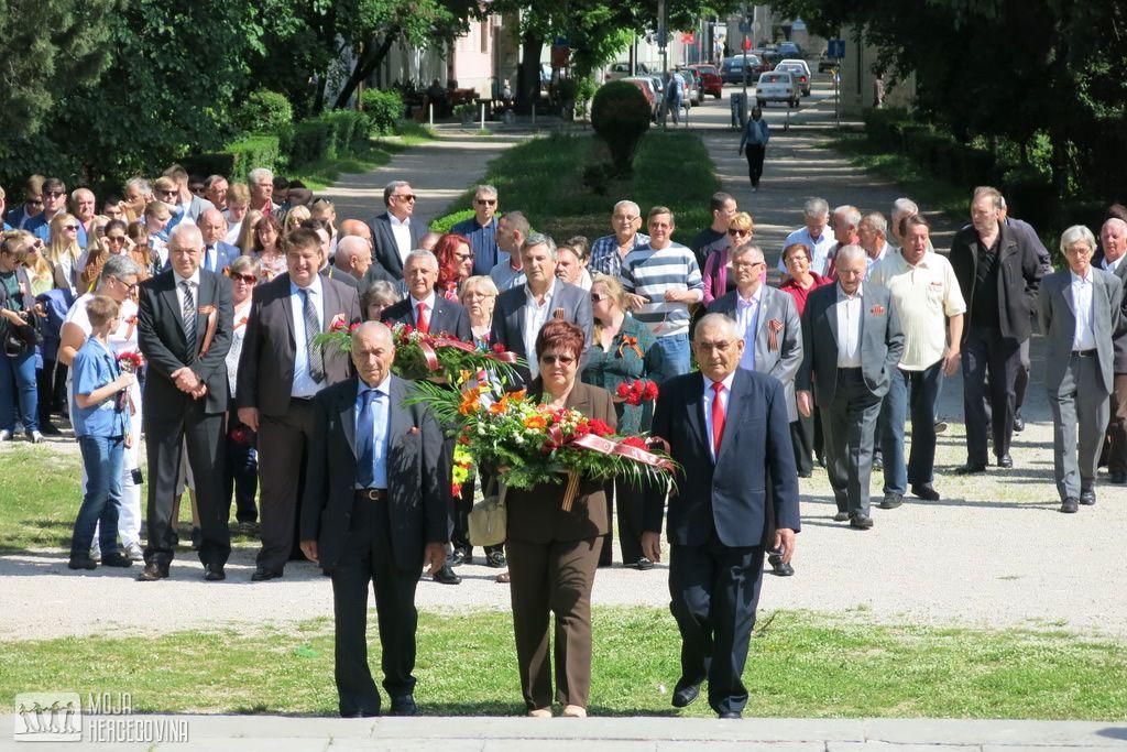 U Trebinju obilježen Dan pobjede nad fašizmom (Foto: Moja Hercegovina)