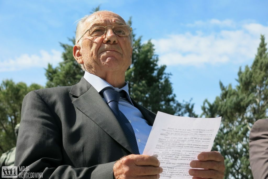 Slavko Šanjević, predsjednik Gradske organizacije SUBNOR-a Trebinje (Foto: Moja Hercegovina)