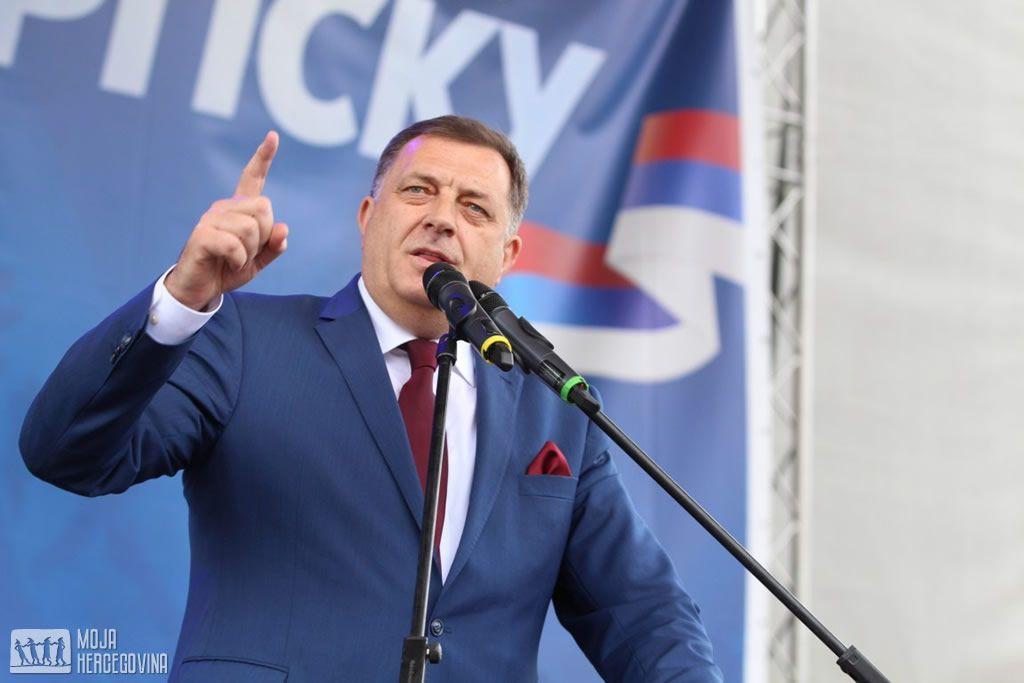 Milorad Dodik (Foto: Moja Hercegovina)