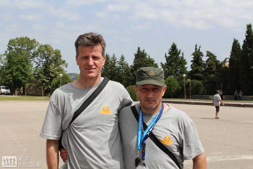 Šemsudin Habibović i Dragan Vulović (FOTO: Moja Hercegovina)
