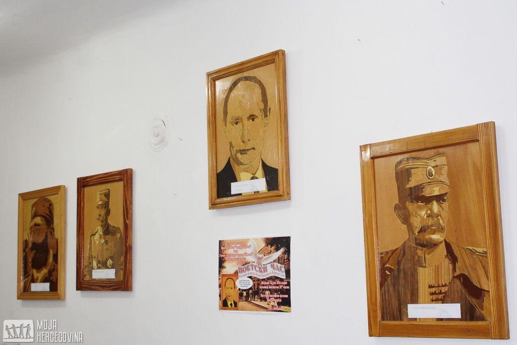 Intarzije Ilije Mrkaića (FOTO: Moja Hercegovina)