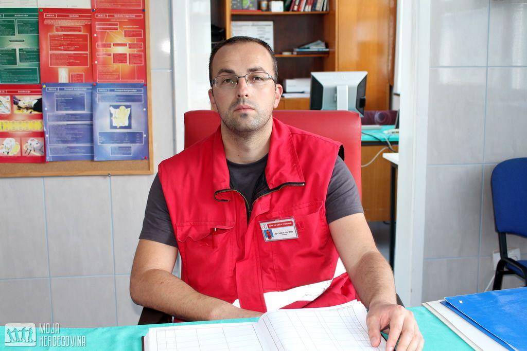 Dr Saša Borjan, načelnik trebinjske Hitne pomoći (FOTO: Moja Hercegovina)