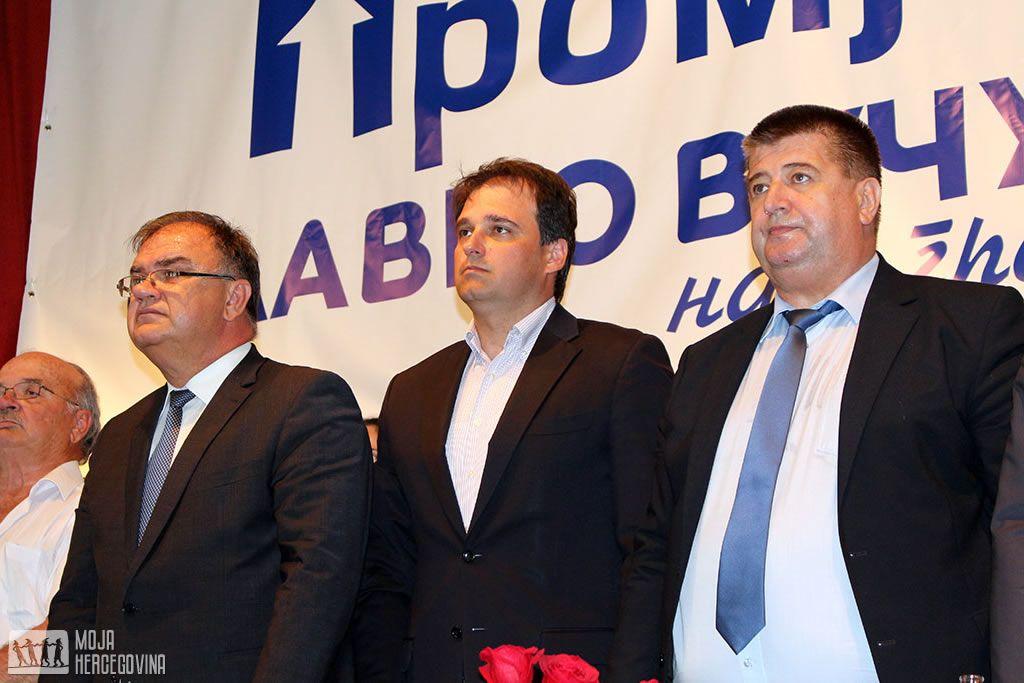 Ivanić, Govedarica i Vučurević (FOTO: Moja Hercegovina)