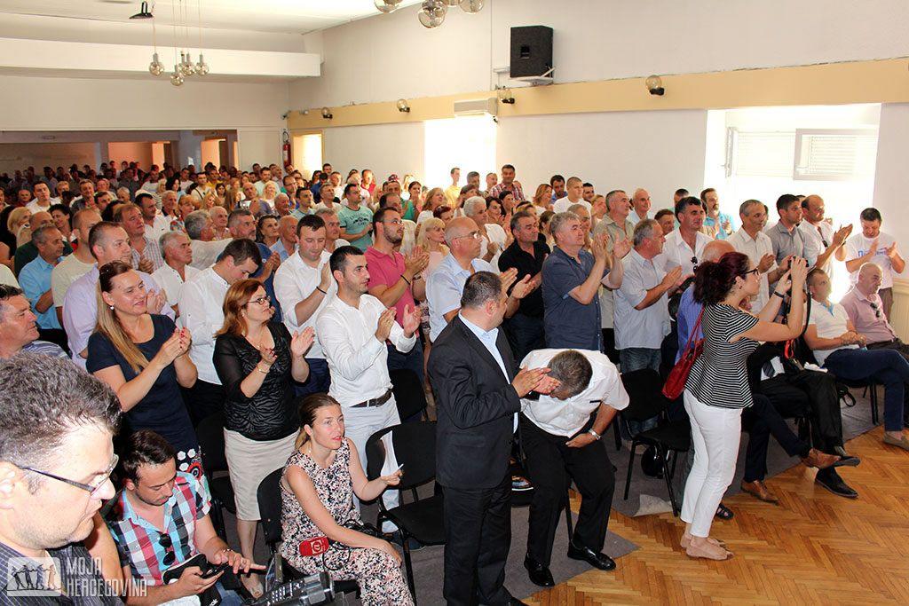 Podrška Savezu za promjene u Trebinju (FOTO: Moja Hercegovina)