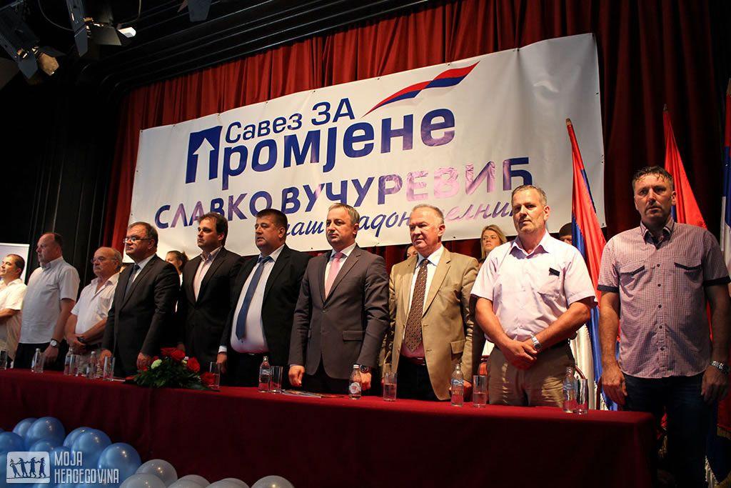 Predstavljanje kandidata SZP-a u Trebinju (FOTO: Moja Hercegovina)