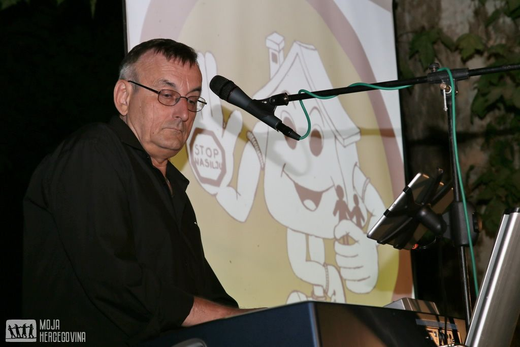 Bobo Vučur, učesnik Donatorske večeri