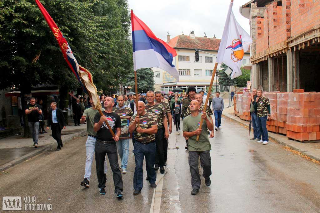 Borci Gatačke brigade po prvi put obilježili svoj dan (Foto: Moja Hercegovina)