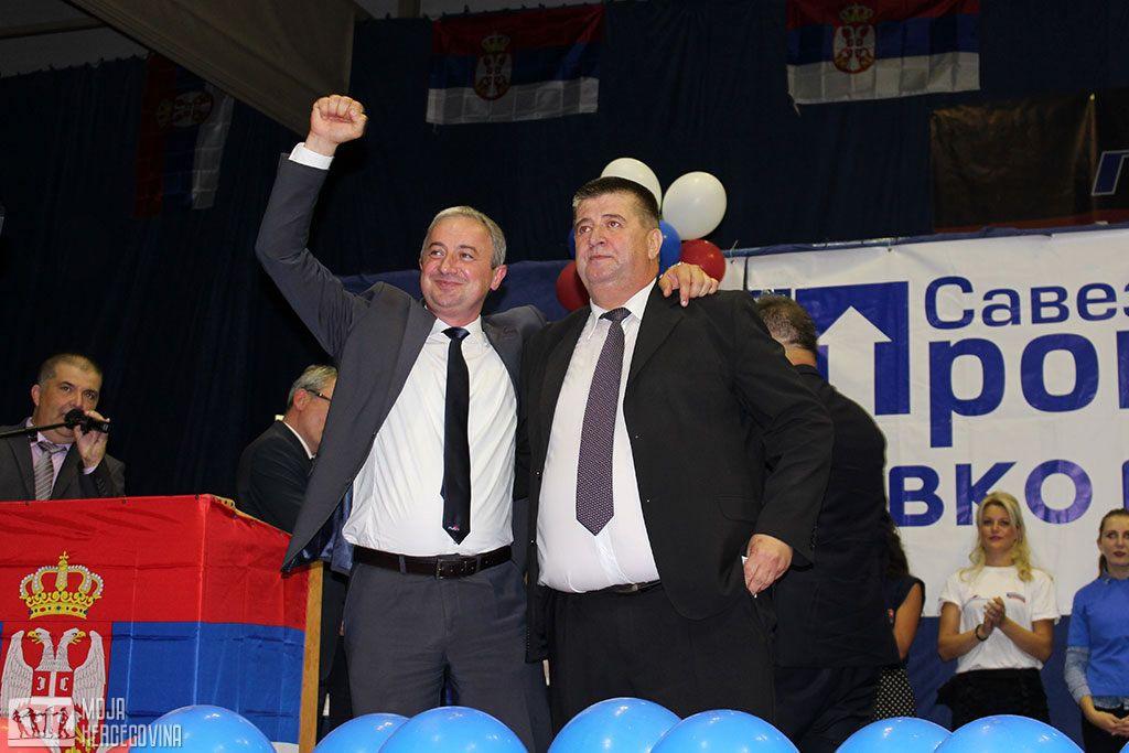 Branislav Borenović i Slavko Vučurević (FOTO: Moja Hercegovina)