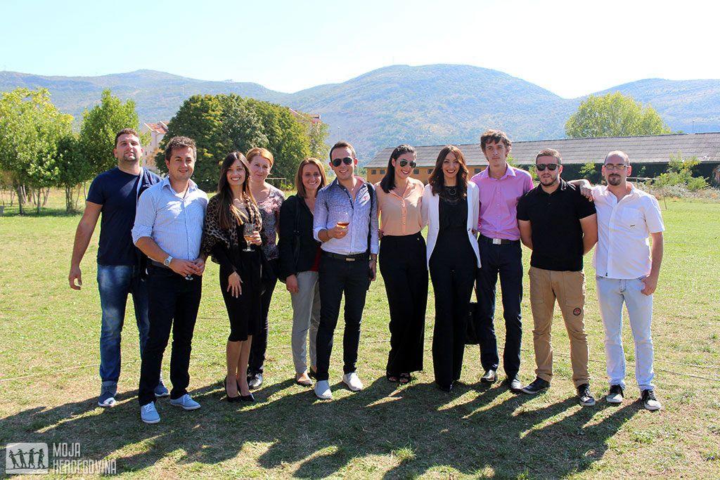 Ekipa novinara, snimatelja i montažera Herceg televizije (FOTO: Moja Hercegovina)