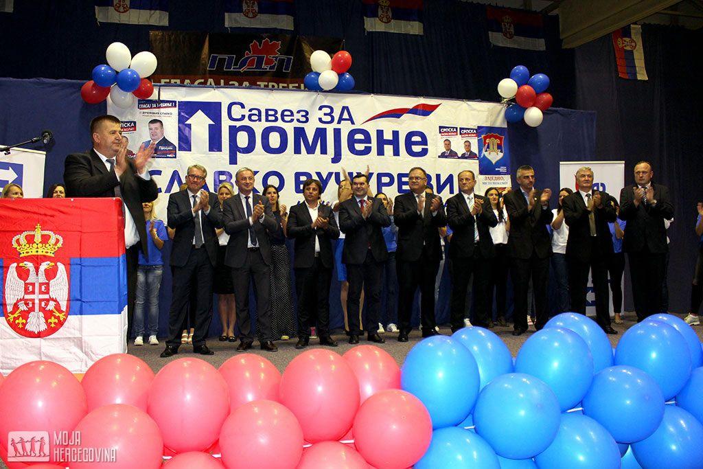 Centralna tribina SZP-a u Trebinju (FOTO: Moja Hercegovina)